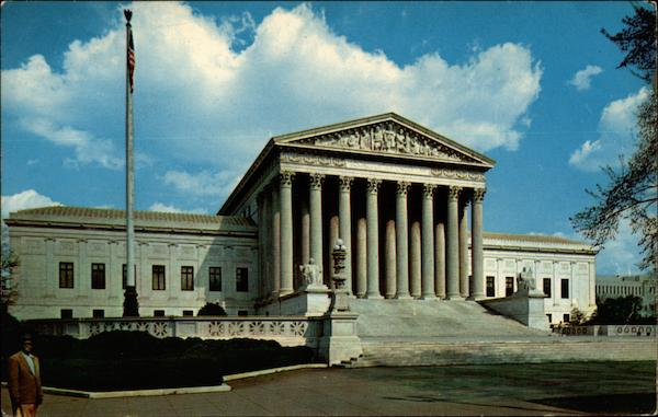 U. S. Supreme Court Building Washington District of Columbia