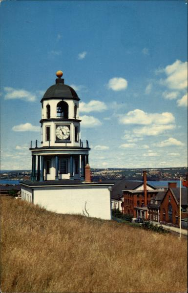 Old Town Clock on Citadel Hill Halifax NS Canada Nova Scotia