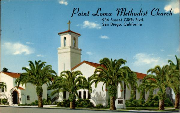 Point Loma Methodist Church San Diego California
