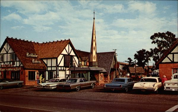 Birkholm's Danish Bakery Solvang California