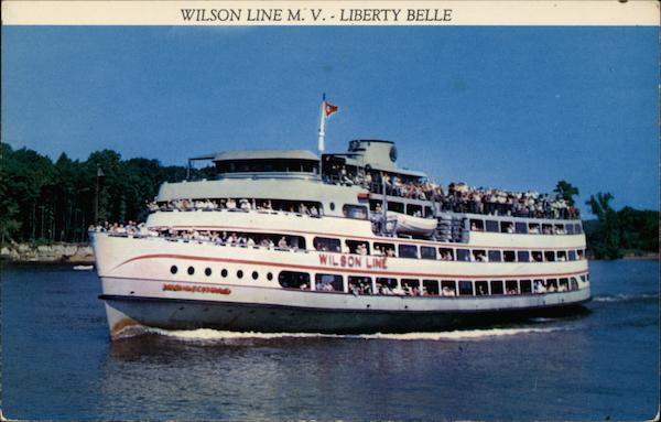 The Wilson Line M V Liberty Belle Riverboats