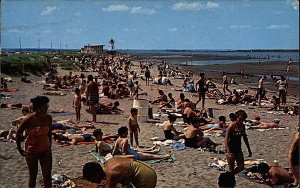Parlee Beach, Pointe du Chene Shediac, NB Canada New Brunswick