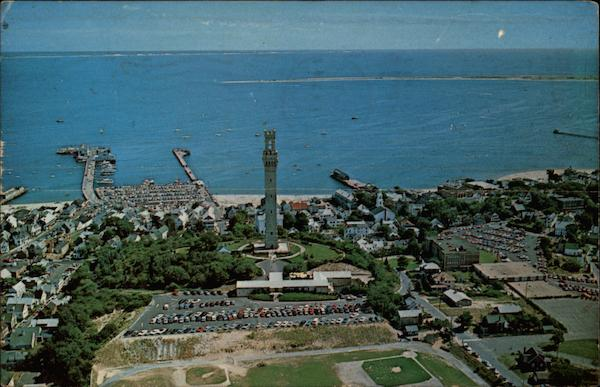 Aerial View Provincetown Massachusetts