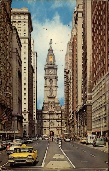 City Hall- Philadelphia the Quaker City Pennsylvania