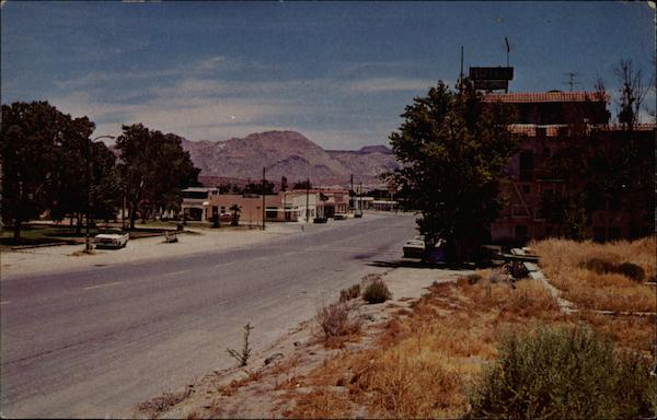 View of Jacumba, California