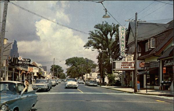 Main Street Hyannis MA