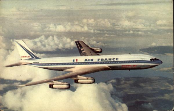 Boeing 708 Intercontinental Aircraft