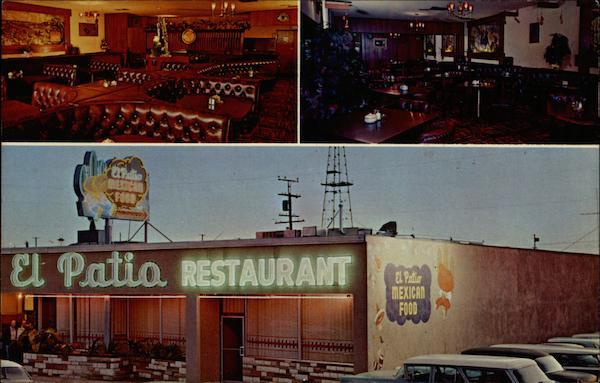 El Patio Restaurant Long Beach California