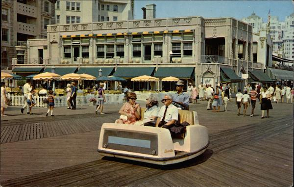 Rolling Chairs Atlantic City New Jersey