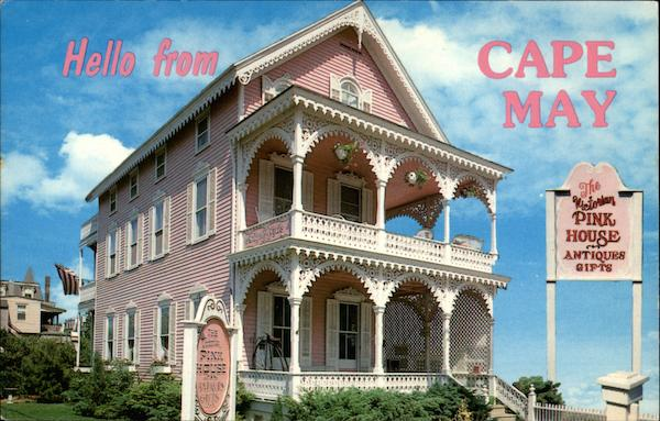 The Pink House Cape May New Jersey