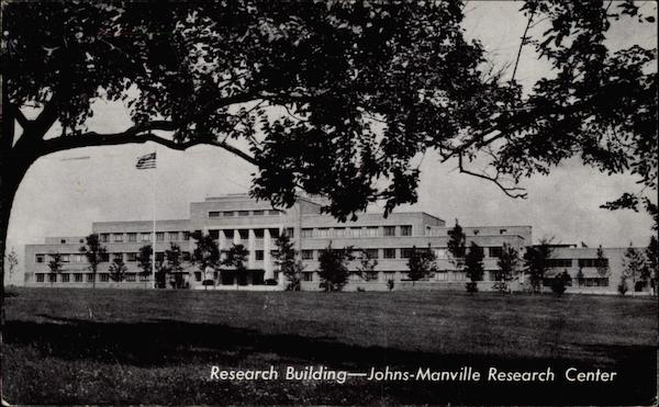 Research Building Johns-Manville Research Center New Jersey