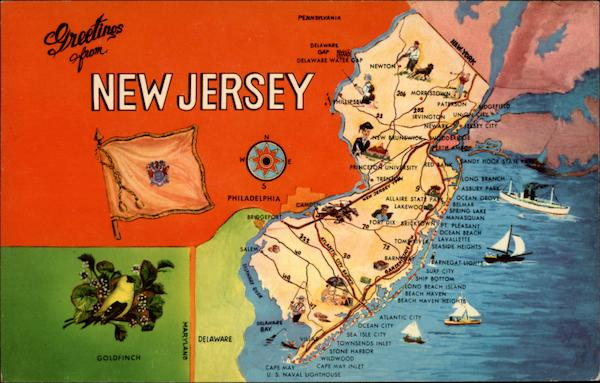 Greetings From New Jersey 39 The Garden State 39 Other New