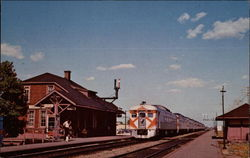 Canadian Pacific - Dorval Station Postcard