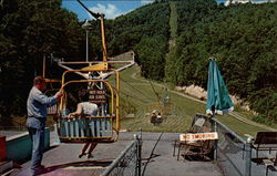Starting the Ride on the Eagle Top Chairlift