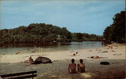 Beach at Cacapon State Park