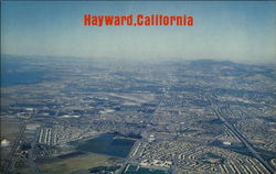 An Aerial of Hayward with Oakland and Berkeley in the Background
