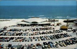 Aerial View of Tower Beach Casino on 'The Miracle Strip'