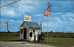 Smallest Post Office Building in the United States Postcard