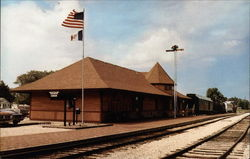 Boone & Scenic Valley Railroad Depot