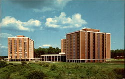 Leebrick, Wright And Koonce Hall, Modern Dormitories At Kent State University Postcard