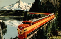 "Southern Pacific's Streamliner ""Shasta Daylight"""