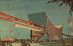 The AMF Monorail New York Worlds Fair