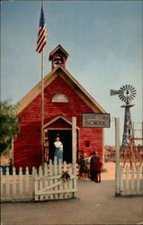 The Little Red School House, Knott's Berry Farm, Ghost Town