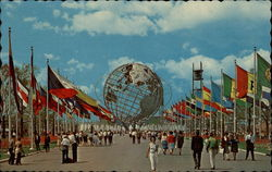 Unisphere at New York Worlds Fair 1964-1965