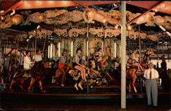 Merry-Go-Round on the Boardwalk Near South Division Street
