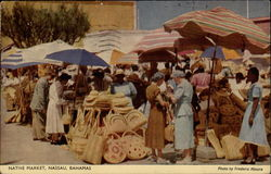Native Market Postcard