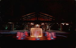 Lighted Fountain - Yacht and Racket Club