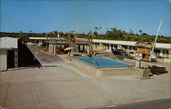 Playground Motel Postcard