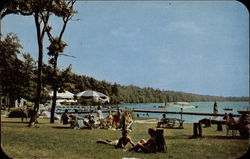 Lakefront and Swimming Area at Unity House, Forest Park, Penna