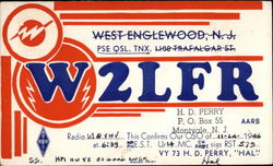 W2LFR Radio- West Englewood, NJ