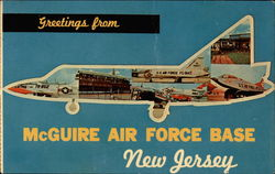 Greetings from McGuire Air Force Base Postcard
