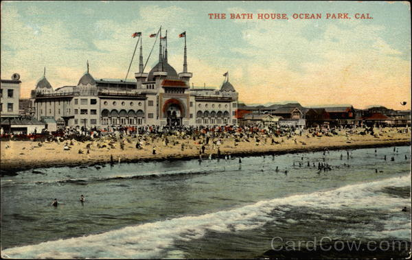 The Bath House Ocean Park California