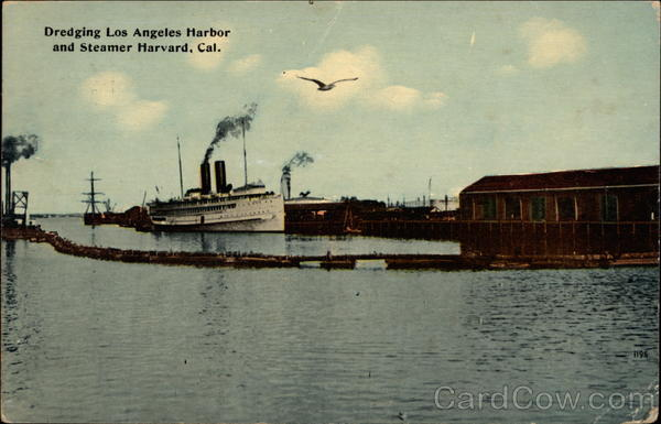 Dredging Los Angeles Harbor California