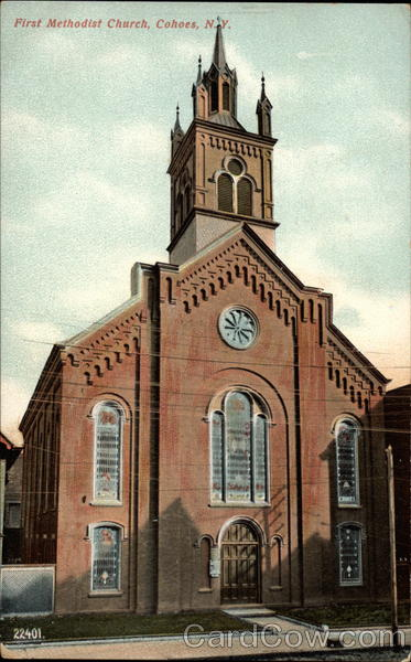 First Methodist Church Cohoes New York