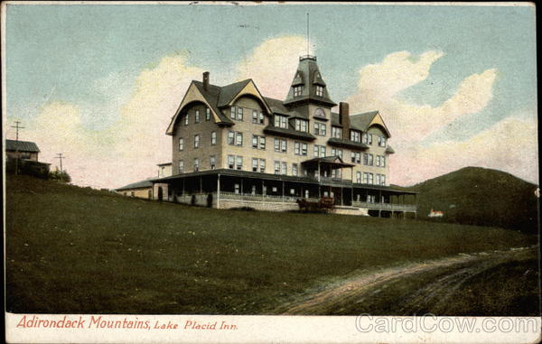 Adirondack Mountains, Lake Placid Inn New York