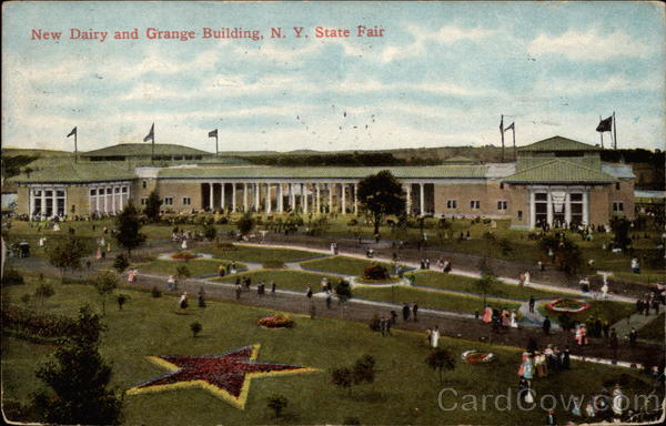 New Dairy and Grange Building, N.Y. State Fair New York