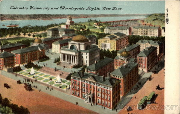 Columbia University and Morningside Hights New York City