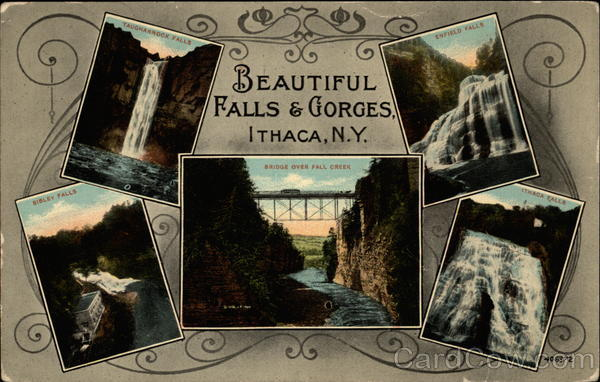 Beautiful Falls & Gorges Ithaca New York