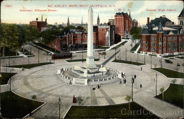 Mc Kinley Monument Buffalo New York