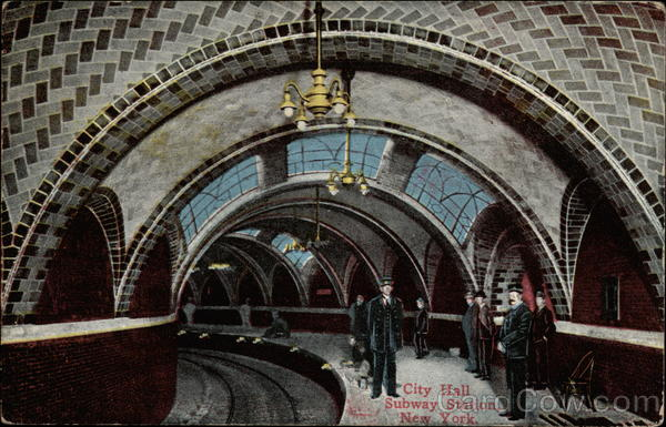 City Hall Subway Station New York