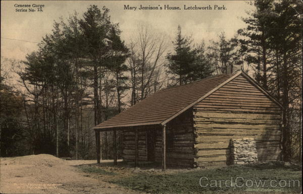 Mary Jemison's House Letchworth Park New York