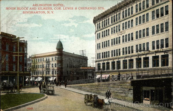Arlington Hotel Binghamton New York