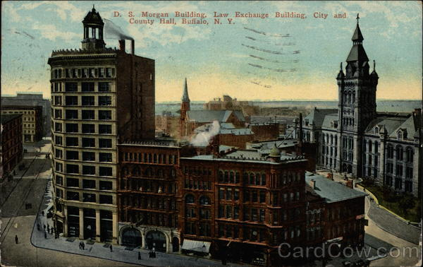 D.S. Morgan Building, Law Exchange Building, City and County Hall Buffalo New York