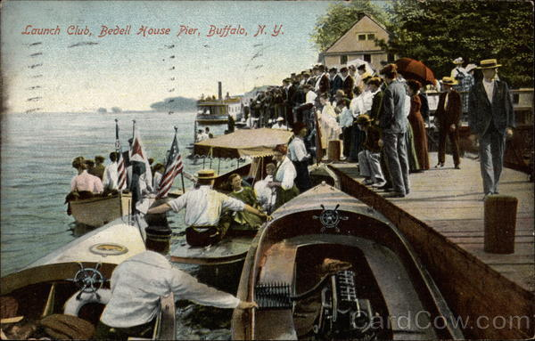 Launch Club, Bedell House Pier Buffalo New York