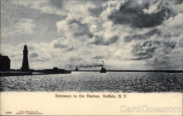Entrance to the Harbor Buffalo New York