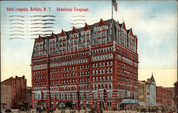 Hotel Iroquois Buffalo New York